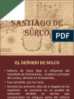 PPT. Santiago de Surco y sus límites al sur