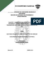 Ajuste y Coordinacion de Protecciones de Distancia y Sobrecorriente Para Lineas de Transmision