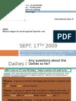 September 17th 2009