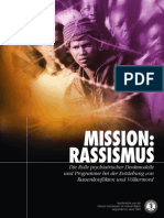 Anti-Psychiatrie - CCHR - 18 - Mission Rassismus