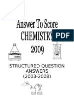 d Strucutred Question Answers