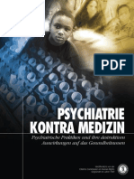 Anti-Psychiatrie - CCHR - 11 - Psychiatrie Kontra Medizin