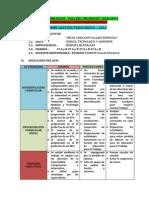 informe pedagogico 2014