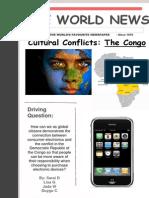 congo cultural conflict newspaper 1