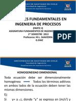 Variables de Proceso (II) (1sem2013)