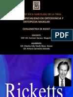 Cefalometria Lateral de Ricket
