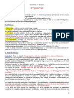 Droit Civil – 1er Semestre