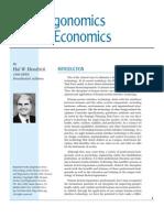 Good Ergonomics is  Good Economics
