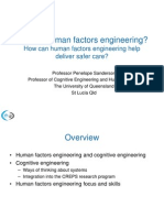 What is Human Factors Engineering?