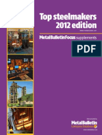 Metal Bulletin Top10 2012 Steelmakers
