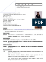 Curriculum Vitae Lic. Jesica Spaccavento