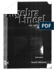 Algebra Lineal Con Aplicaciones - Gareth Williams