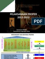 Peringkat Pengumuman PROPER 2013-1