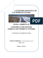 Ficha Ambiental A