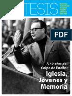 Iglesia Jovenes y Memoria - Revista 95 Tesis