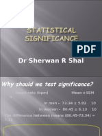 A to Z Statistical Significance GET IT NOW