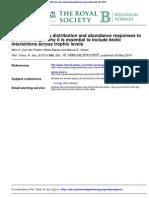 Distribution Abundance Climate