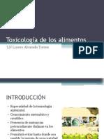 1. Introducción. Toxicología de los alimentos