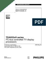 TDA9330 PHILIPS Philips Semiconductors