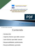 Lo que todo Perito Contador debe conocer - Guatemala