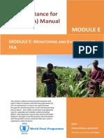 File 5_module e - Monitoring & Evaluation for Ffa 20 July 2011