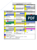 Calendrio Escolar Ia - 2014 -Final