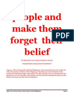 Make Them Forget Their Belief (What is this Belief?)