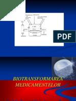 Biotransformarea medicamentelor