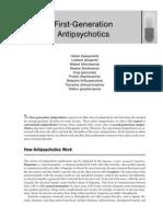 First Generation Antipsychotic
