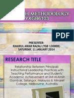 YXGB6103 Research Method Presentation - Amar_Final