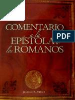 Calvino Comentario a La Ep Stola a Los Romanos
