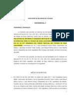 COMISIÓN DE REFORMA DE ESTADO, Dictamen No.7