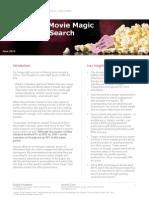 Quantifying Movie Magic Research Studies
