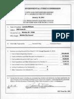 Lavonta Williams Campaign Finance 2014-01-10