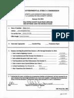 Dave Unruh Campaign Finance 2014-01-10