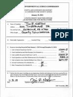 Tim Norton Campaign Finance 2014-01-10