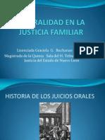 La Oralidad en La Justicia Familiar