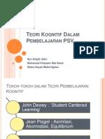 Teori Kognitif Dalam Pembelajaran PSV
