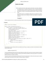 Cadenas de Caracteres en Java