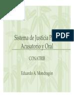Módulo I Sistema de Justicia Penal Acusatorio y Oral
