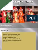 Astamatricka dance of  Patan