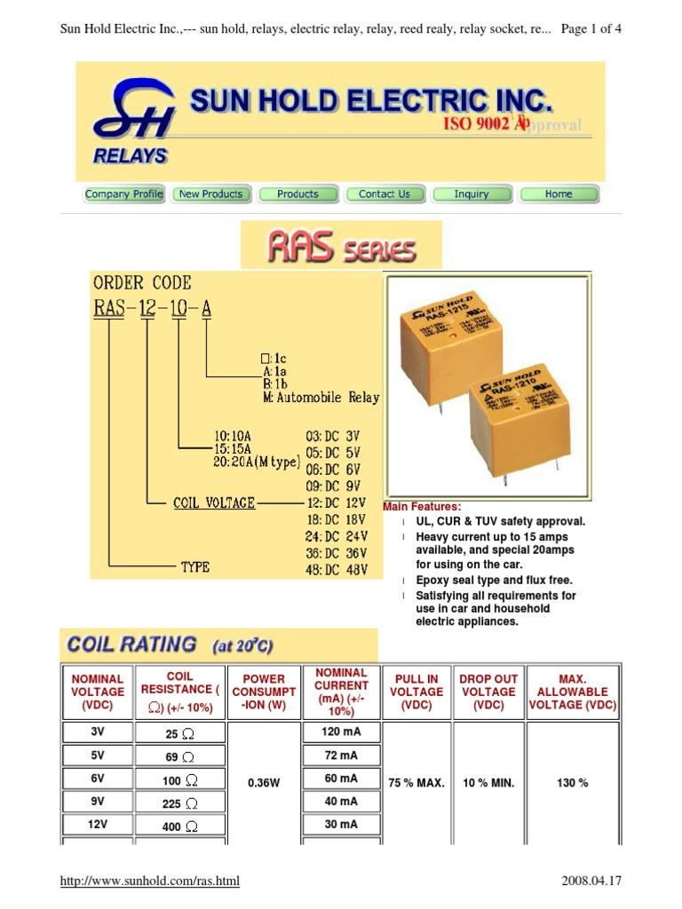 Ras 0610 datasheet pdf download