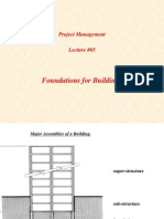 PM Lecture05 Foundations for Buildings