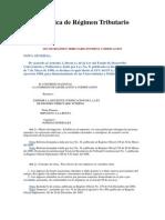Ley Orgánica de Régimen Tributario Interno