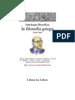 Gaos José - Antología Filosófica. La Filosofia Griega.doc
