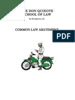 Common Law Abatement