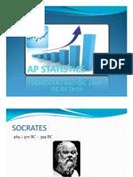 AP Statistics Semester i Ago-dic 2009 II