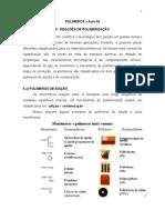 2012.1 Aula 04 Polimeros Reacoes de Polimerizacao