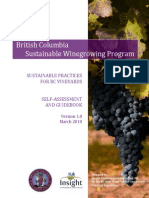 100729 Sustainable Practices Vineyards AssessmentGuidebook