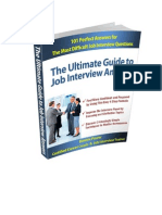 The Ultimate Guide to Job Interview Answers1